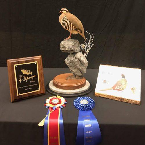Chukar Mount; South Dakota Taxidermy Competition Awards